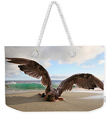 Angels- For The Lord Himself Will Descend From Heaven With A Shout Weekender Tote Bag