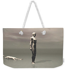Anger Weekender Tote Bag by John Alexander
