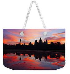 Angkor Wat Sunrise Weekender Tote Bag by Alexey Stiop