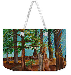 Angle In Idyllwild Weekender Tote Bag