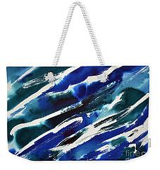 Angle Waves Weekender Tote Bag by Joan Hartenstein