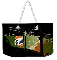 Weekender Tote Bag featuring the photograph Angles Fenway Park  by Iconic Images Art Gallery David Pucciarelli