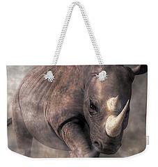 Angry Rhino Weekender Tote Bag