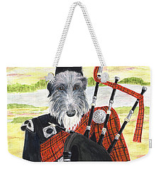 Angus The Piper Weekender Tote Bag