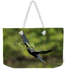 Anhinga Weekender Tote Bag by Anthony Mercieca
