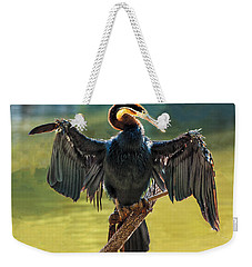 Anhinga Drying His Wings Weekender Tote Bag