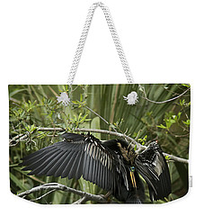 Anhinga Papa Weekender Tote Bag by Phill Doherty
