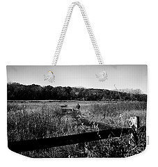A Man And His Dog Weekender Tote Bag