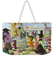 Animal Supermarket Weekender Tote Bag