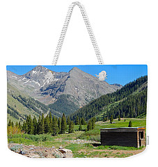 Animas Forks Jail Weekender Tote Bag by Dan Miller