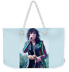 Ann Wilson Of Heart At 1981 Day On The Green In Oakland Ca Weekender Tote Bag