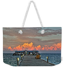 Anna Maria City Pier Weekender Tote Bag