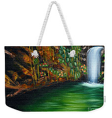 Annadale Waterfall Weekender Tote Bag