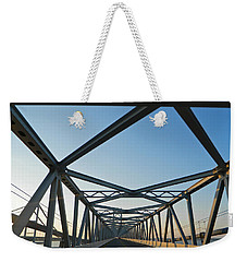 Annapolis Bay Bridge At Sunrise Weekender Tote Bag