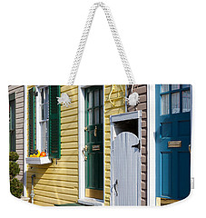 Annapolis Historic Homes I Weekender Tote Bag by Clarence Holmes