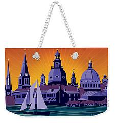 Annapolis Steeples And Cupolas Weekender Tote Bag