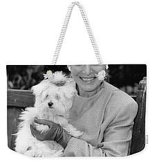 Anne Bancroft Weekender Tote Bag