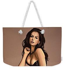Anne Hathaway Painting Weekender Tote Bag
