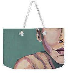 Annie Lennox Talk To Me Weekender Tote Bag