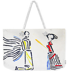 Annunciation Weekender Tote Bag