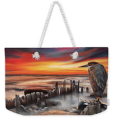 Another Bloody Sunset Weekender Tote Bag