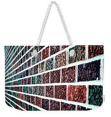 Another Brick In The Wall Weekender Tote Bag by Deena Stoddard