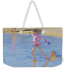 Another Day At The Beach Weekender Tote Bag