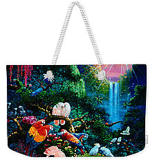 Another Day In Paradise - Digital 2 Weekender Tote Bag