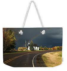 Another Rainbow Ahead Weekender Tote Bag