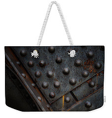 Another Rivet Trivet  Weekender Tote Bag by Gary Warnimont