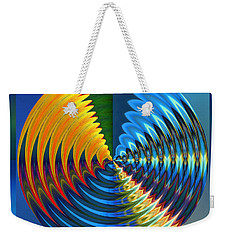 Another Wheel Of Life Weekender Tote Bag