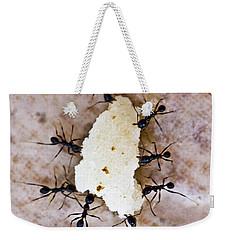 Ant Joint Venture Weekender Tote Bag by Heiko Koehrer-Wagner