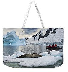 Antarctic Serenity... Weekender Tote Bag