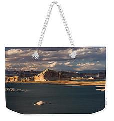 Antelope Island At Sunset Weekender Tote Bag