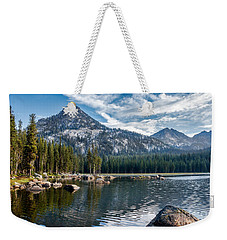 Anthony Lake Weekender Tote Bag by Robert Bales