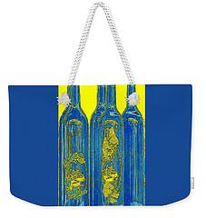Antibes Blue Bottles Weekender Tote Bag