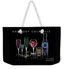 Antibody Cocktails Weekender Tote Bag