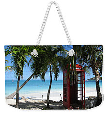 Antigua - Phone Booth Weekender Tote Bag