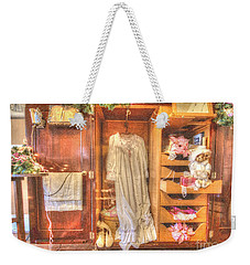 Antique Armoire Weekender Tote Bag