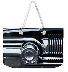 Antique Car Grill Weekender Tote Bag