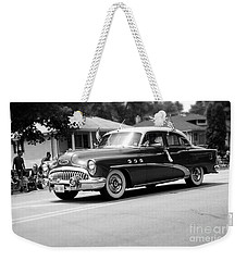Antique Car Parade Weekender Tote Bag