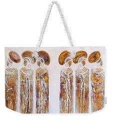 Antique Copper Zulu Ladies - Original Artwork Weekender Tote Bag