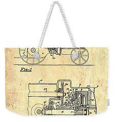 Antique Massey-ferguson Tractor Patent 1935 Weekender Tote Bag