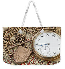 Antique Memories Weekender Tote Bag