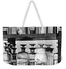 Antique Pharmacy Weekender Tote Bag