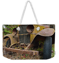 Antique Pickup Truck Weekender Tote Bag