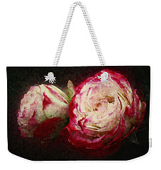 Antique Romance Weekender Tote Bag