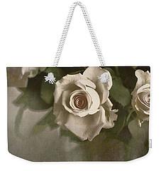 Antique Roses Weekender Tote Bag