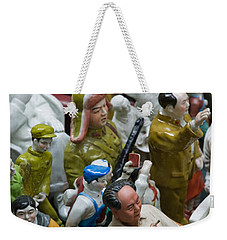 Antique Store Display Of Chairman Maos Weekender Tote Bag by Panoramic Images