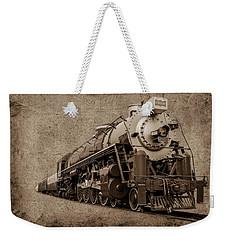 Antique Train Weekender Tote Bag by Doug Long